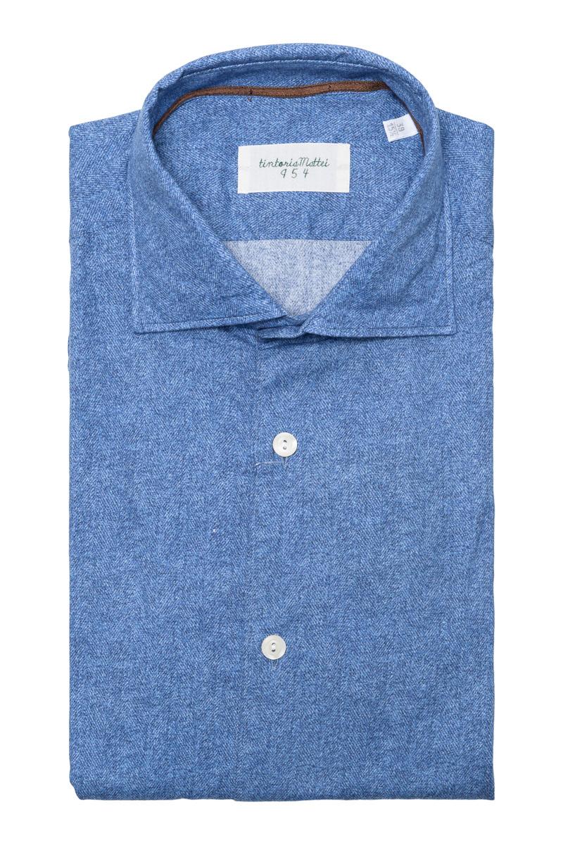 Tintoria Mattei Overhemd 100% Katoen Foto 1