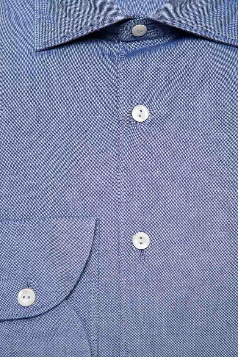 Tintoria Mattei Overhemd 100% Katoen Foto 2