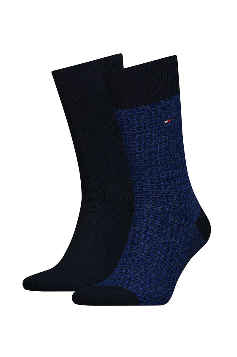 Tommy Hilfiger sokken Two Pack Structure Uni Foto 1