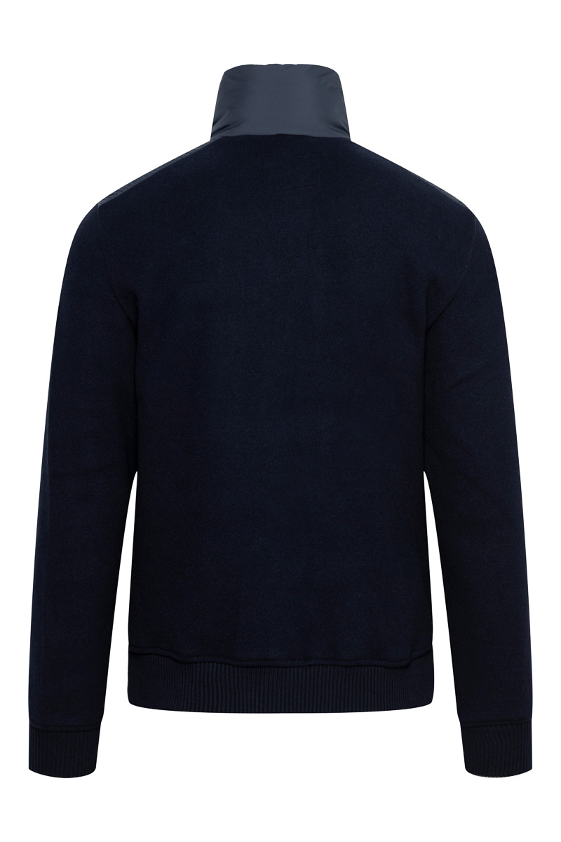 Woolrich Bonded Full Zip Dons Gevoerd donkerblauw Foto 2