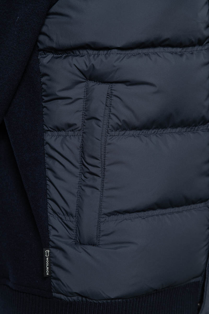 Woolrich Bonded Full Zip Dons Gevoerd donkerblauw Foto 3