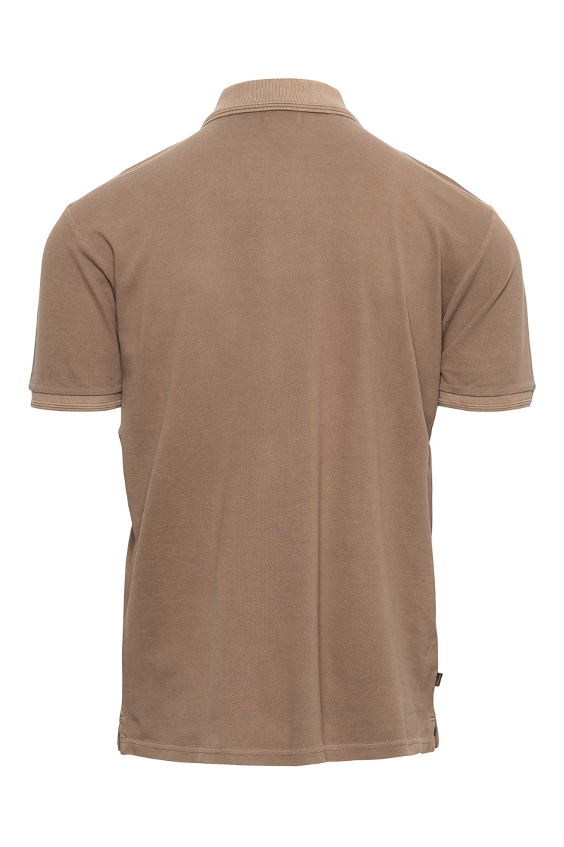 WOOLRICH Mackinack Polo Garment Dyed Stretch Pique Foto 2