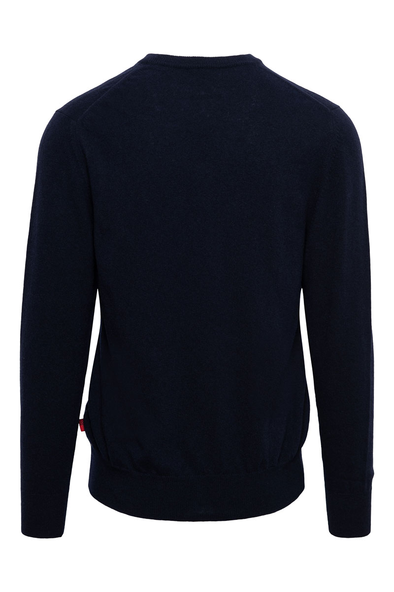 WOOLRICH Super Geelon V-Neck Made in Italy Foto 2