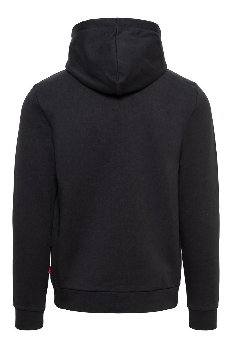Woolrich Sweater Hoodie 100% Katoen Made Portugal Foto 2