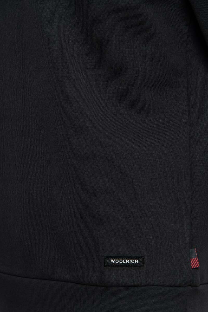 Woolrich Sweater Hoodie 100% Katoen Made Portugal Foto 3