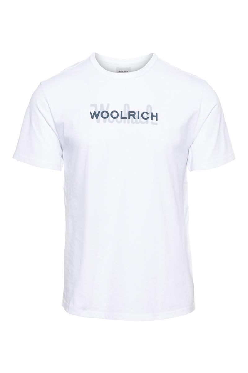 WOOLRICH T-Shirt Macro Logo Tee Foto 1