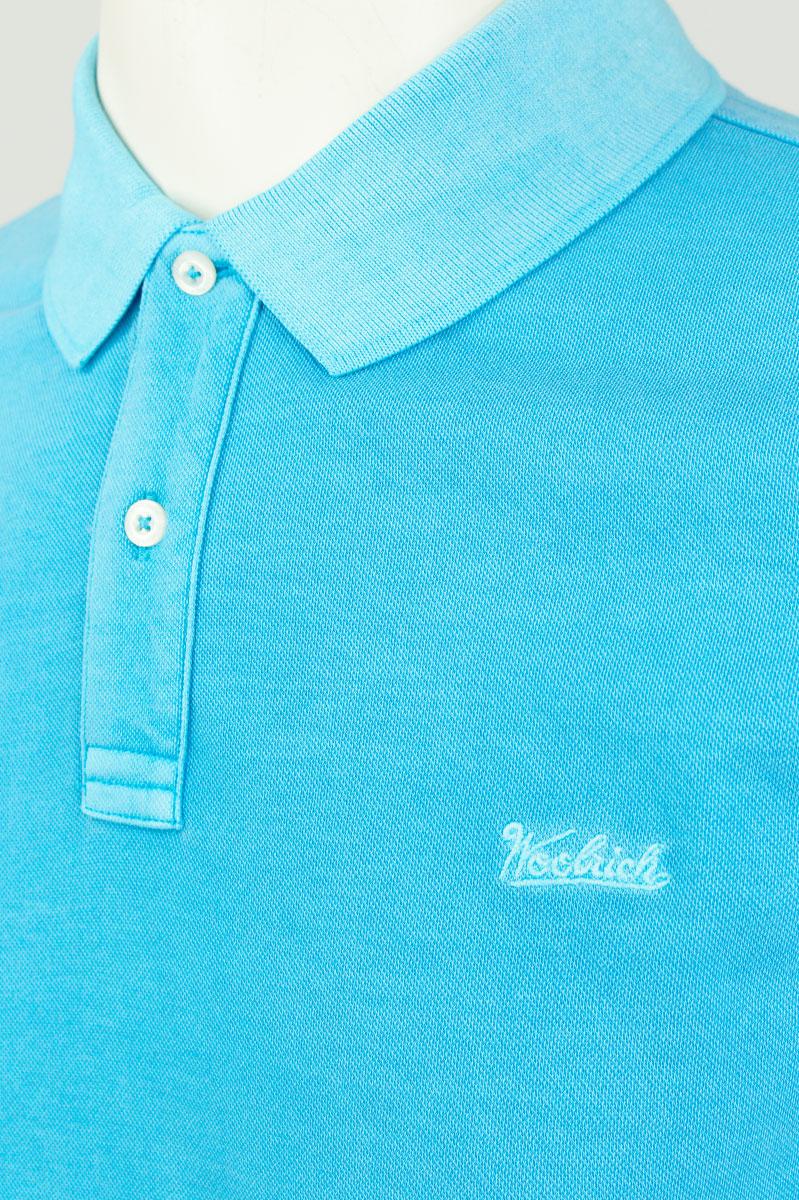Woolrich Vintage Mackinack Polo Marine Blue Foto 3