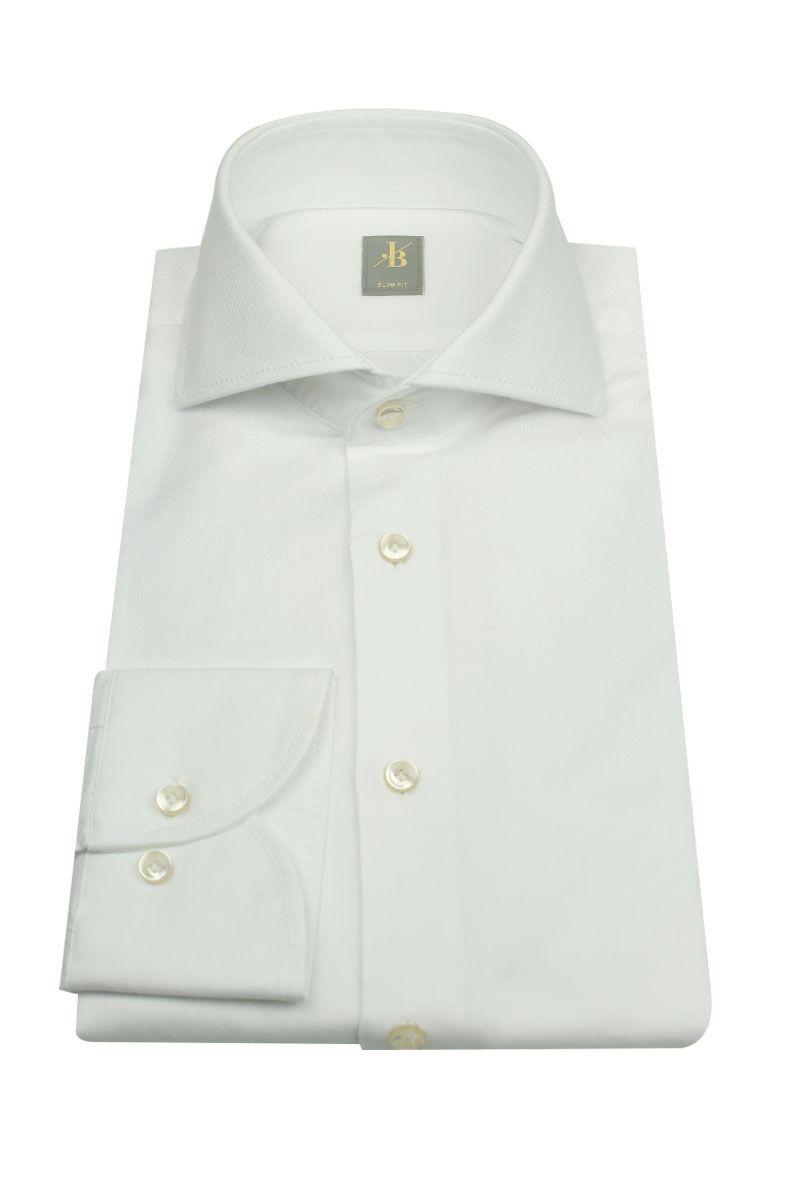 Jacques Britt Slim Fit Dress Shirt 100% Katoen Foto 1
