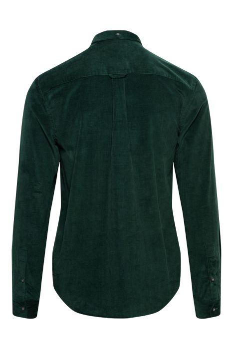 Lyle & Scott Overhemd 100% Katoen Corduroy Slim Fi