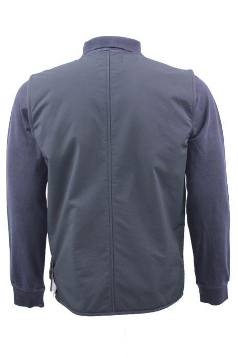 Stone Island Vest G03F1 Ghost Bodywarmer Polyester Stretch Donkerblauw