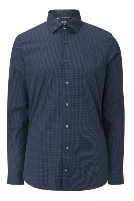 Strellson Ruit Shirt 100% Katoen