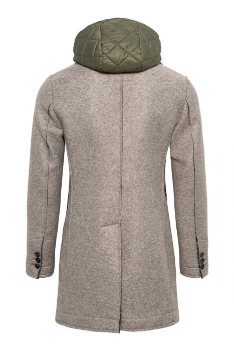 BOB Neopreen Coat 65% Polyacryl 20% Polyester 15% Wool