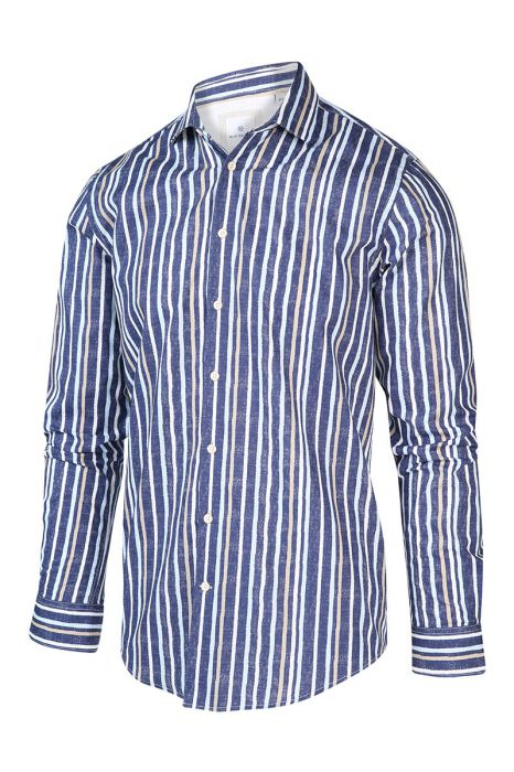 Blue Industry Overhemd Katoen Perfect Fit