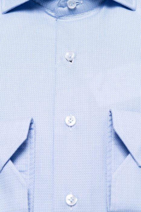BT Overhemden 100% Katoen Dobby Gewassen Mouwlengt