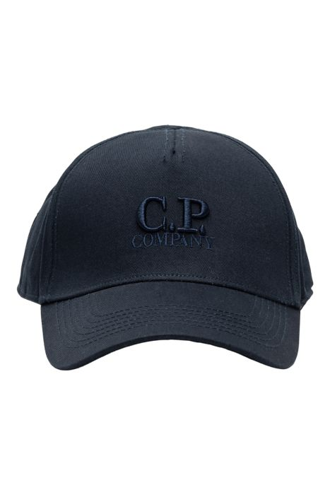 C.P. Company Cap Goggle Logo 100% Katoen