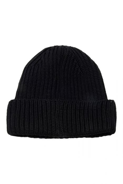 CP Company Goggle Beanie Extrafine Merino wool zwart
