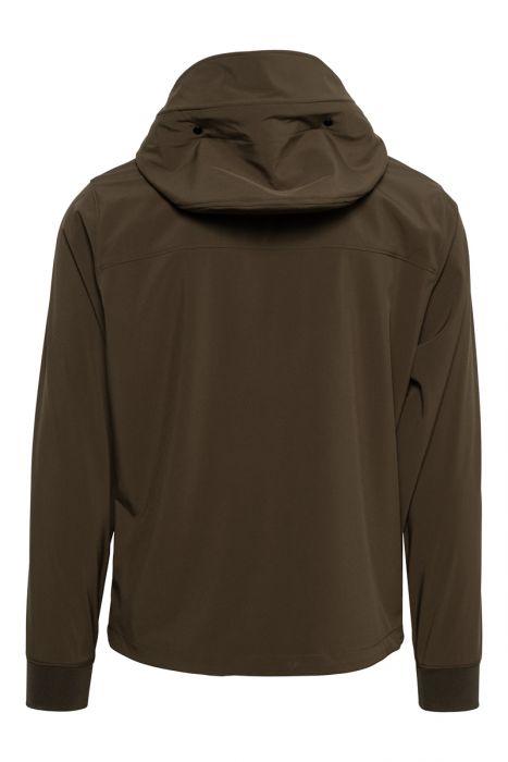 C.P. Company Soft Shell Hood Goggle Zip