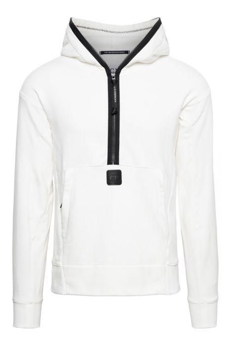 CP Company Sweat Hooded Zip Diagonal Fleece