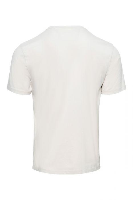 CP Company T-Shirt Logo print Licht beige