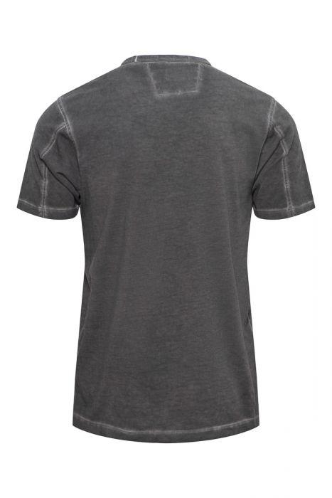 C.P. Company T-Shirt Garment Dyed 100% Cotton Zwart
