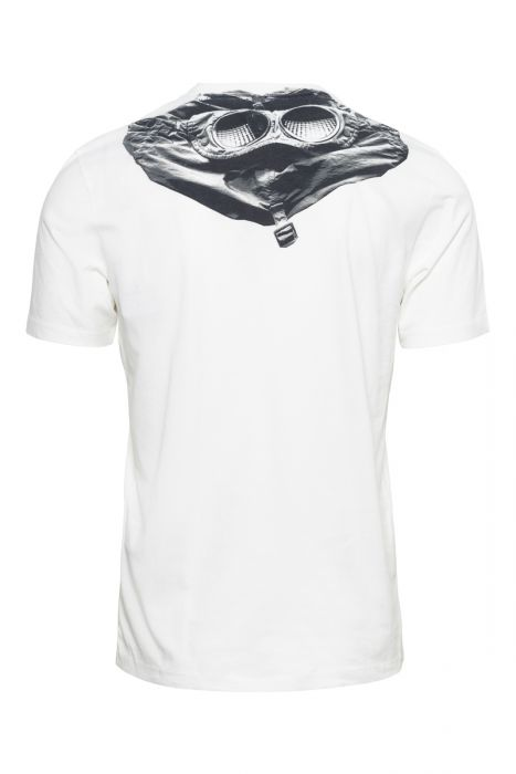 C.P. Company T-Shirt Mille Miglia 100% Katoen Prin