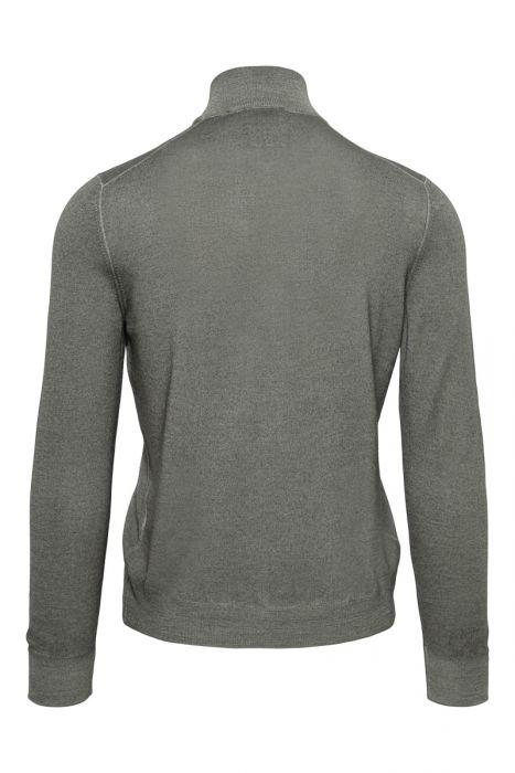 Gran Sasso 100% Merino Vest Garment Dyed