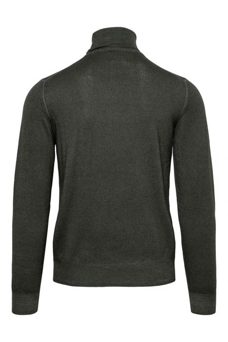 Gran Sasso Trui 100% Wool Donkergroen