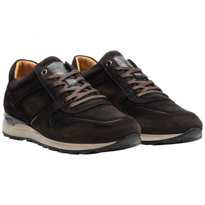 Greve Sneaker Fury Suede Donkerbruin