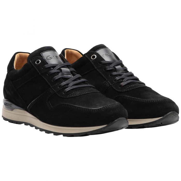 Greve Sneaker Fury Suede Zwart