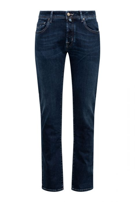 Jacob Cohen Jeans 622-Nick Comf 92% Cotton 8% Stretch dark denim