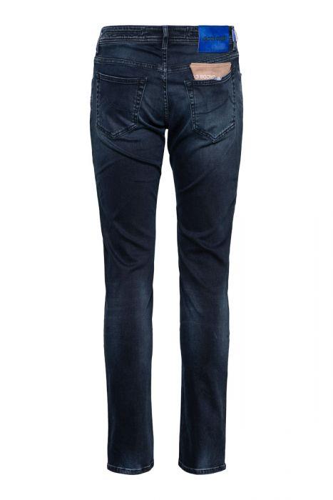 Jacob Cohen Jeans 622-Nick Super Slim blue black denim washing