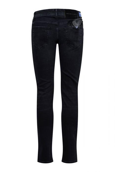 Jacob Cohen Jeans 622-Nick Super Slim zwart