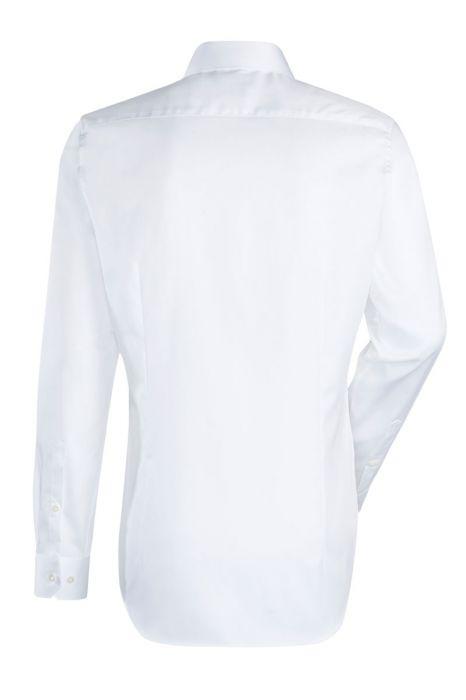 Jacques Britt Overhemd 100% Katoen Slim Fit Wit