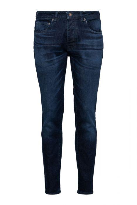 Kuyichi Jamie Worn in Blue Slim fit Jeans Stretch