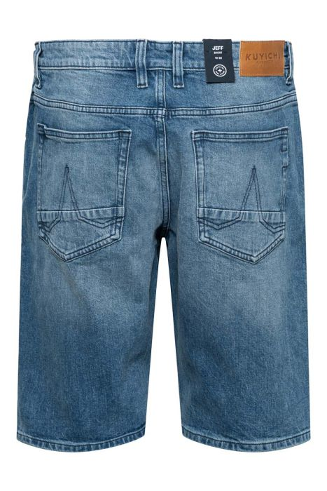 Kuyichi Jeans Bermuda Regular Slim 1% Stretch