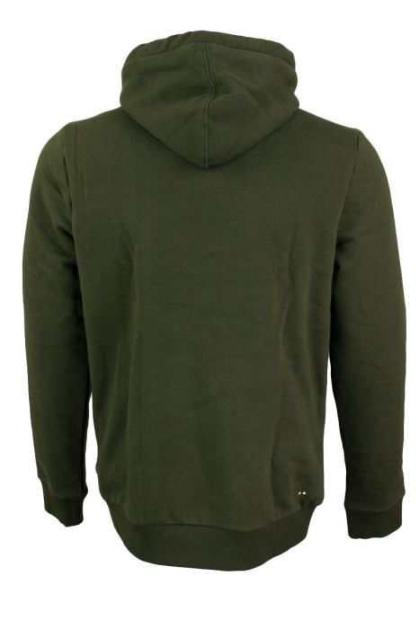 Napapijri Burgee Cotton Fleece Hood Pocket Logo
