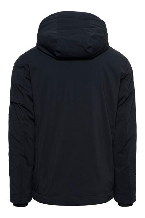 National Geographic Hooded Urban Jacket 77% Polyamide Zwart