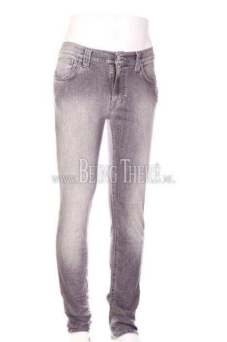 Nudie Jeans Thin Finn Dark Pavement stretch