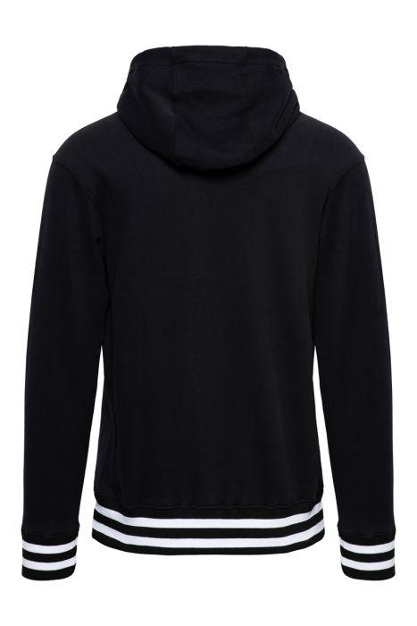 Paul & Shark Sweater Hoodie Zwart