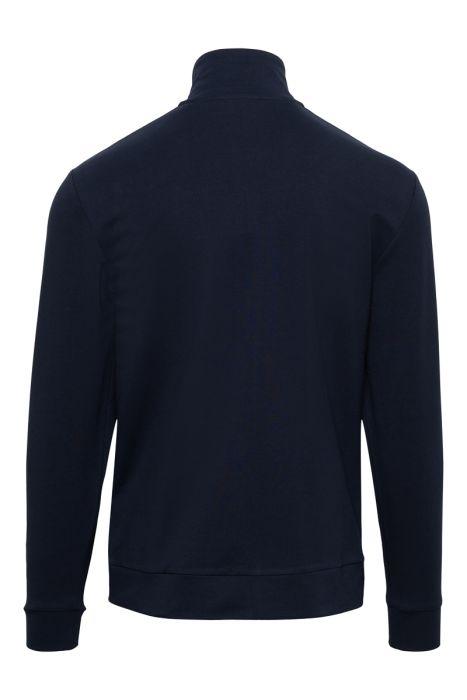 Paul & Shark Sweater Zip Polokraag 100% Organic Co
