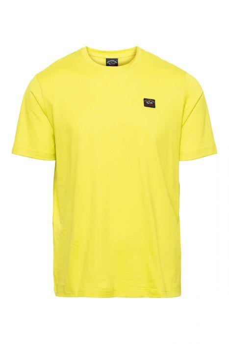 Paul & Shark T-Shirt Crew Neck  100% Organic Cotto