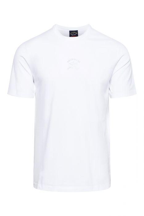 Paul & Shark T-Shirt Reflective Print Organic Cotton