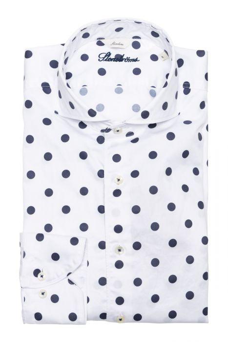 Stenstroms Overhemd 2ply Slimline Print