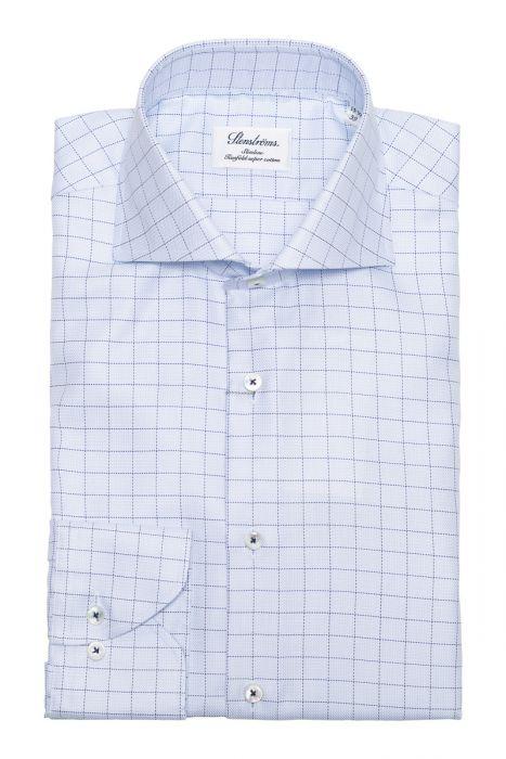 Stenstroms Overhemd Slimline 2 Ply Cotton
