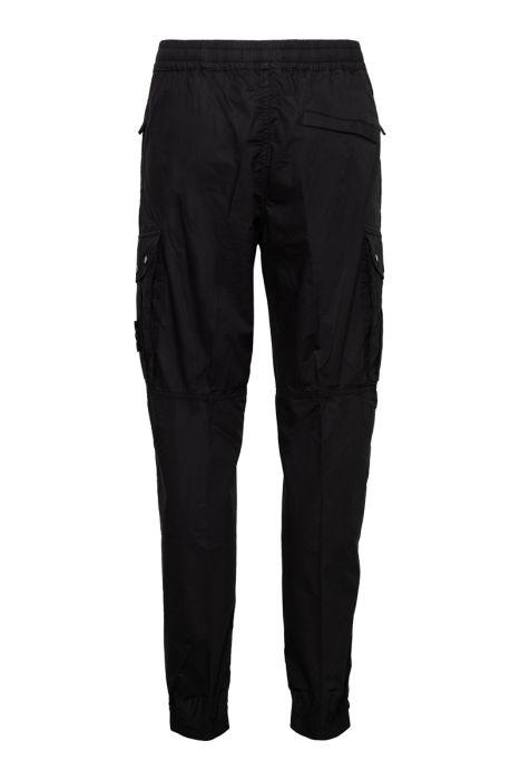Stone Island Jogger Pants Light Cotton Zwart
