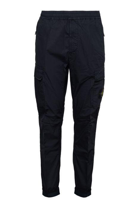 Stone Island Jogger Pants Light Cotton Donkerblauw
