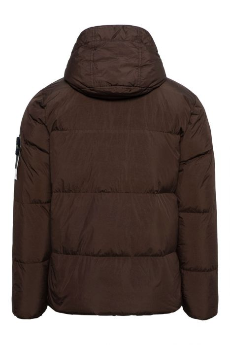 Stone Island Jack 40123 Garment Dyed Crinkle Reps NY Down Bruin