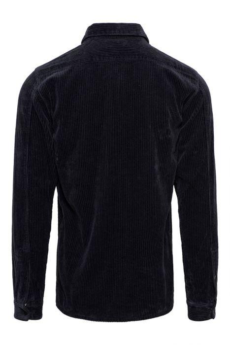 Stone Island Overhemd 12111 Ribcord Donkerblauw