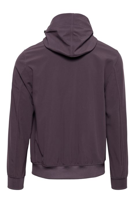 Stone Island Soft Shell E-Dyed Paars