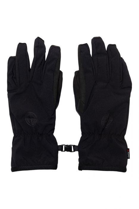 Stone Island Handschoen 92429 Soft Shell-R Primaloft Zwart